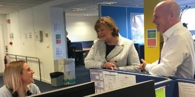 Image of cabinet secretary Fiona Hyslop