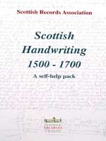 Scottish Handwriting self help pack