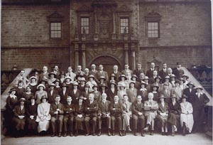 Image showing 1921 Census Office staff, Edinburgh