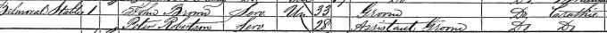 1861 census record for John Brown