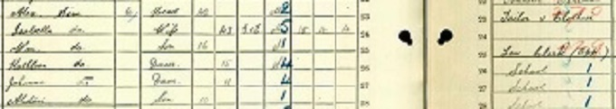 1911 census return for Alastair Sim