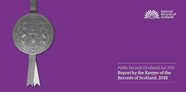 Image - Keeper's Public Records (Scotland) Act 2011 Annual Report