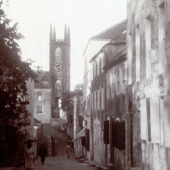 Photograph of St Georges Episcopal Church on the Island of Grenada, 1905 (Crown Copyright, National Records of Scotland, GD1/585/21).