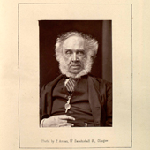 Photograph of Thomas John Dunn, elder of the United Presbyterian Church in the Parish of Melrose, Roxburghshire, 19th century