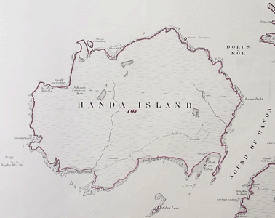 Map of Handa Island,(National Records of Scotland, IRS131/61).