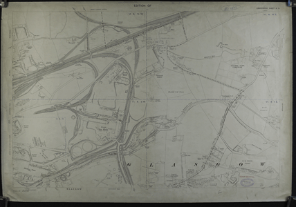 25 inch (1/2500) map of Riddrie, Lanarkshire, (National Records of Scotland, IRS118/77).