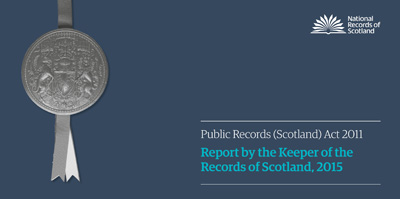 Public Records (Scotland) Act 2011 Annual Report for 2015 -Image