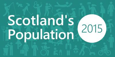 Scotland's Population news release image