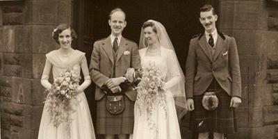 A Scottish Church wedding in 1940