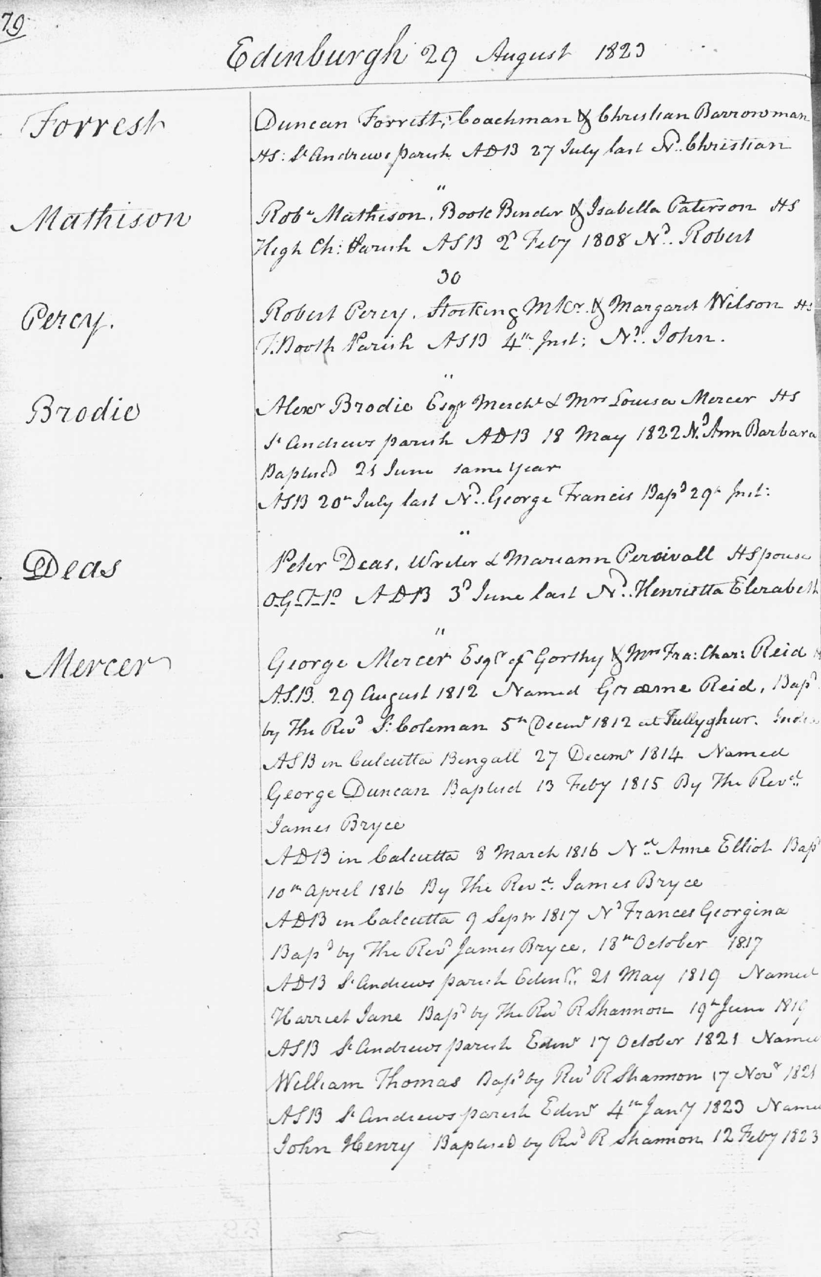 Old parish registers births and baptisms national records of example of the old parish register for edinburgh reference opr 685 1055 yelopaper Choice Image