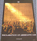 Declaration of Arbroath poster