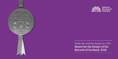 Picture showing front cover page of Keeper's Annual Report - 2018