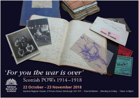image- Prisoners of War Exhibition - Poster