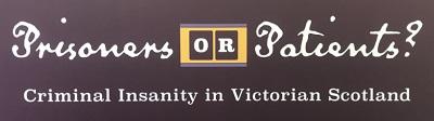 prisoner or patient - exhibition logo