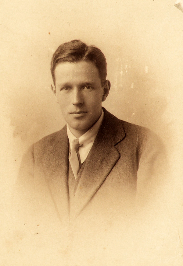 Charles W Yule, circa 1912, courtesy of Fiona Gregg-Smith