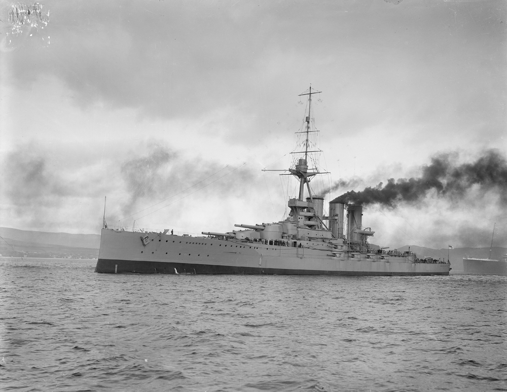 HMS 'Tiger', National Records of Scotland, UCS1/118/418/160