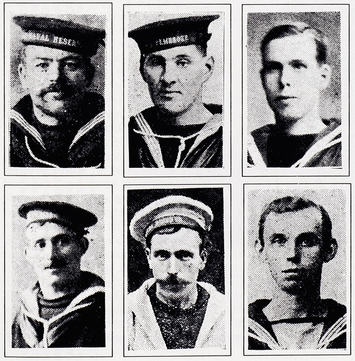 Sailors from Wick killed at Jutland, copyright, North of Scotland Newspapers