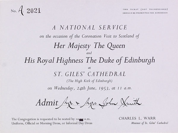 Queen Elizabeth II and Scotland | National Records of Scotland