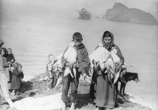 St Kildans at the Fulmar harvest, © National Trust for Scotland, Licensor www.scran.ac.uk