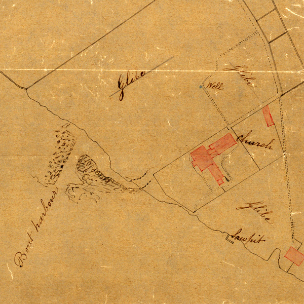 Plan of St Kilda Village, 1860 (National Records of Scotland, RHP49452)