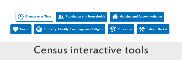 A link to the census interactive tools on the Scotland's Census website