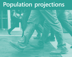 Population projections logo
