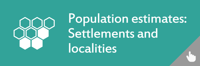 Image links to Population Estimates for Settlements and Localities in Scotland, Mid-2016