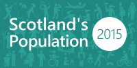Scotland's Population news release image