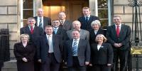 Picture of Scottish cabinet members